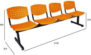plop tandem naranja estandar 4 medidas